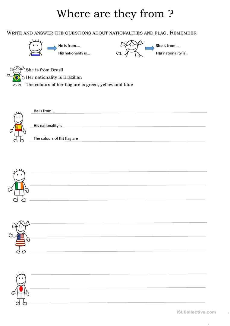 who what when where why worksheets where are you from worksheet free esl printable 772