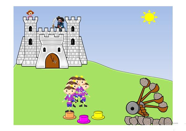 Colors/Save the Princess Game