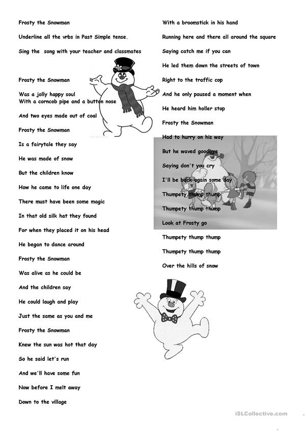 Frosty the Snowman 1