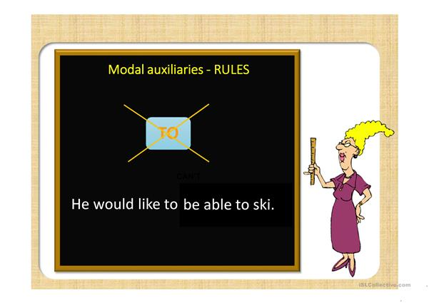 Modals (rules)