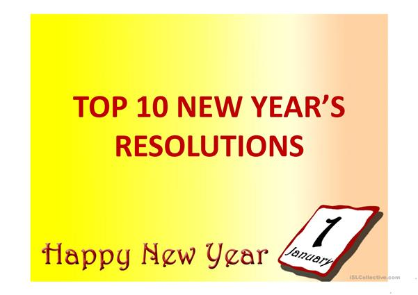 New Year's PPT plus reading and converation materials