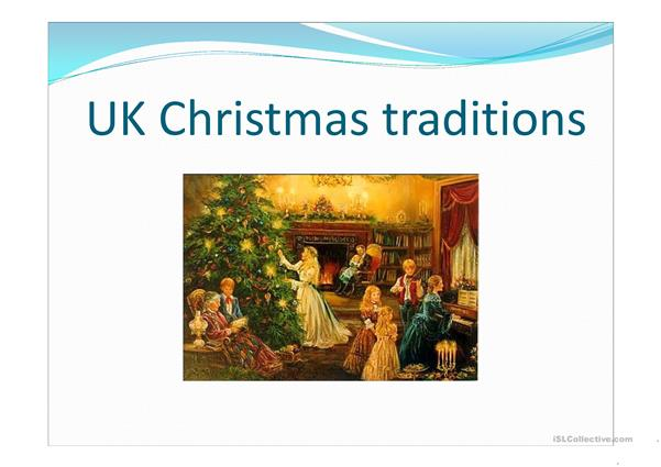(UK) Christmas traditions