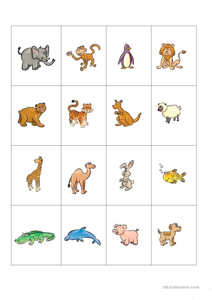animals pictures and words worksheet free esl printable worksheets made by teachers. Black Bedroom Furniture Sets. Home Design Ideas