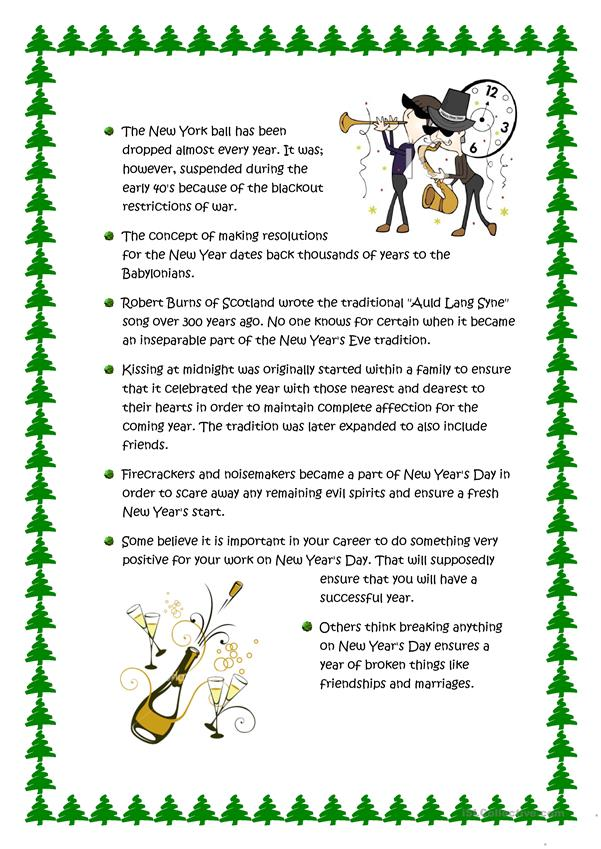 Fun Facts About New Year's Eve and New Year's Day ...