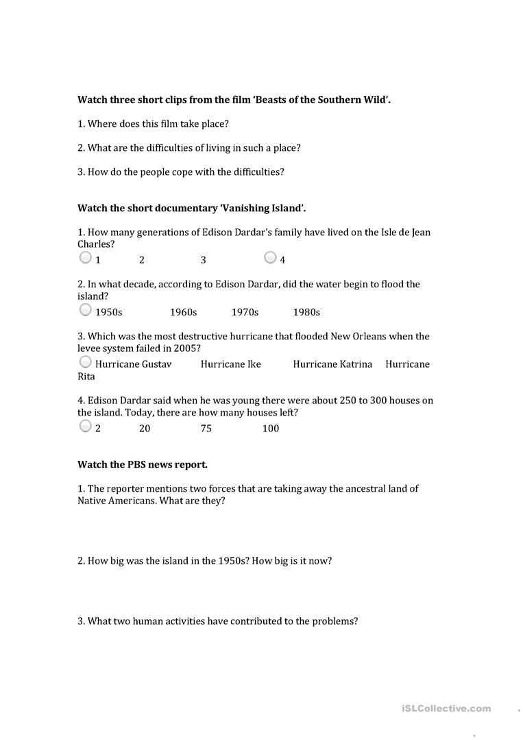 Worksheets Climate Worksheet 14 free esl climate worksheets change video class