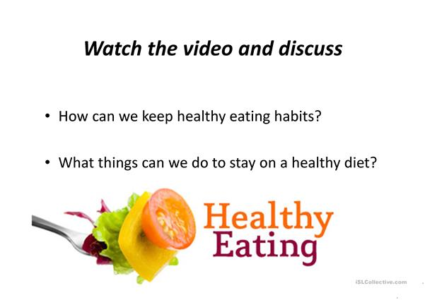 Food and Eating habits