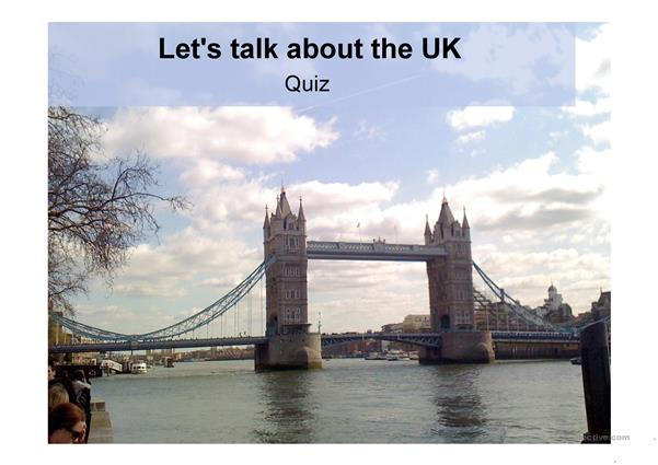 Let's Talk about the UK!