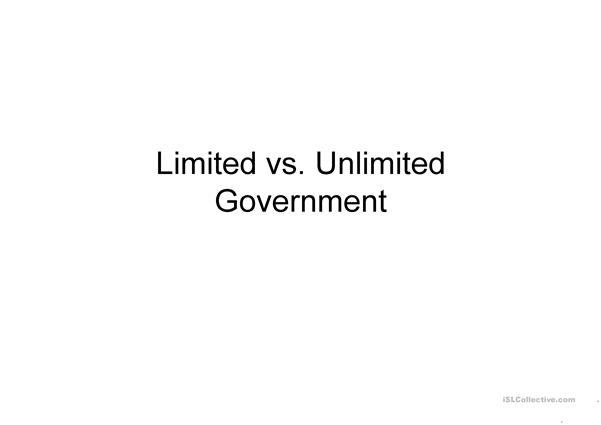 Limited vs Unlimited