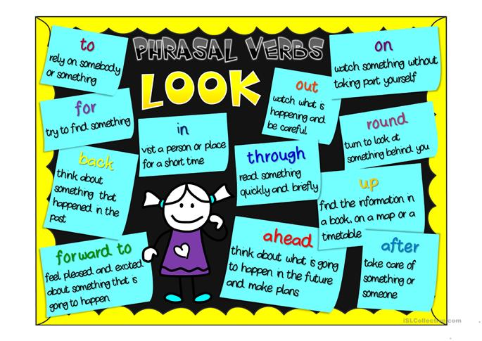 phrasal verbs with look exercises pdf