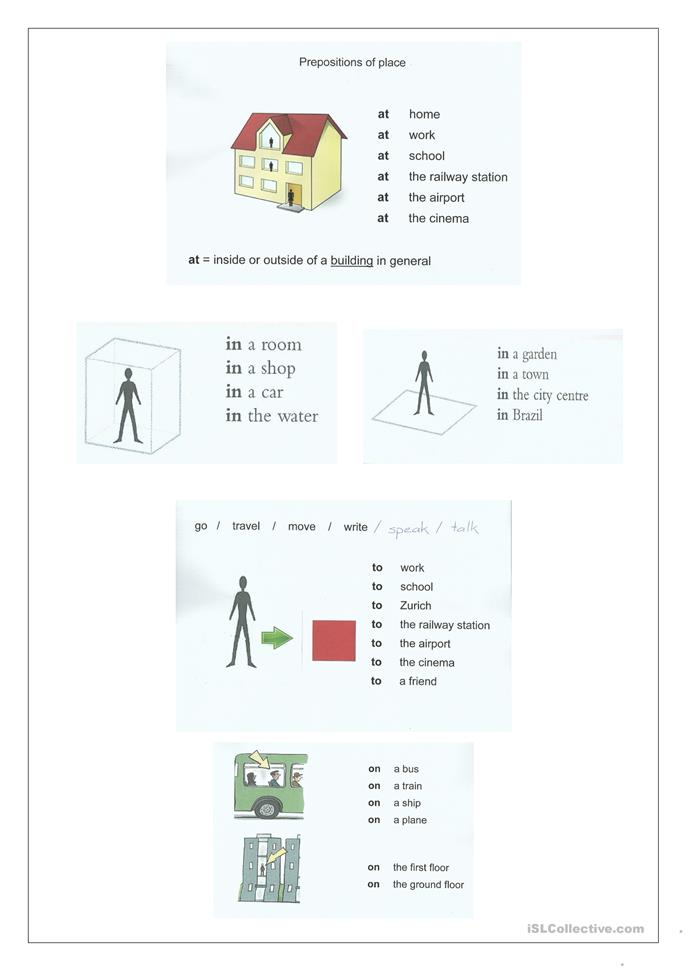 Preposition Of Place Worksheet Free Esl Printable Worksheets Made By Teachers