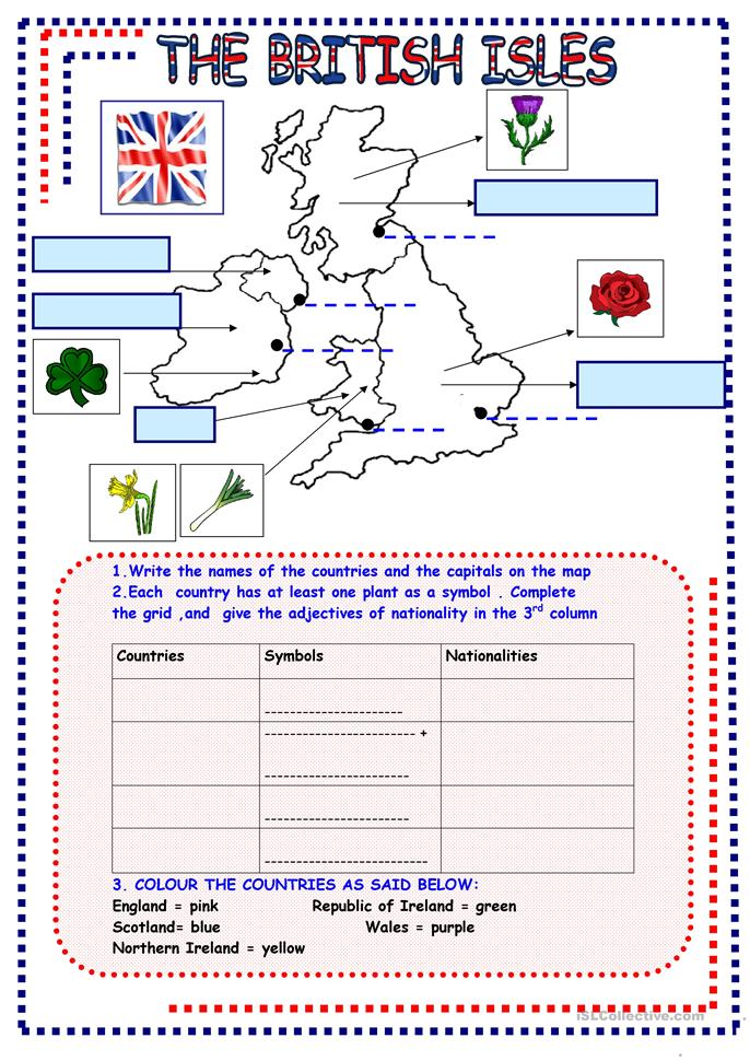 Geography Worksheets   Free - CommonCoreSheets