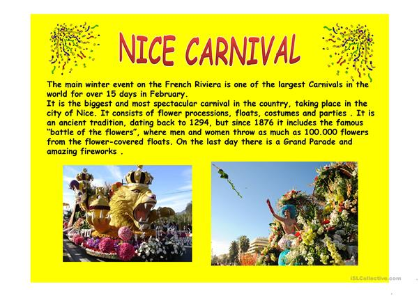 Carnivals around the world