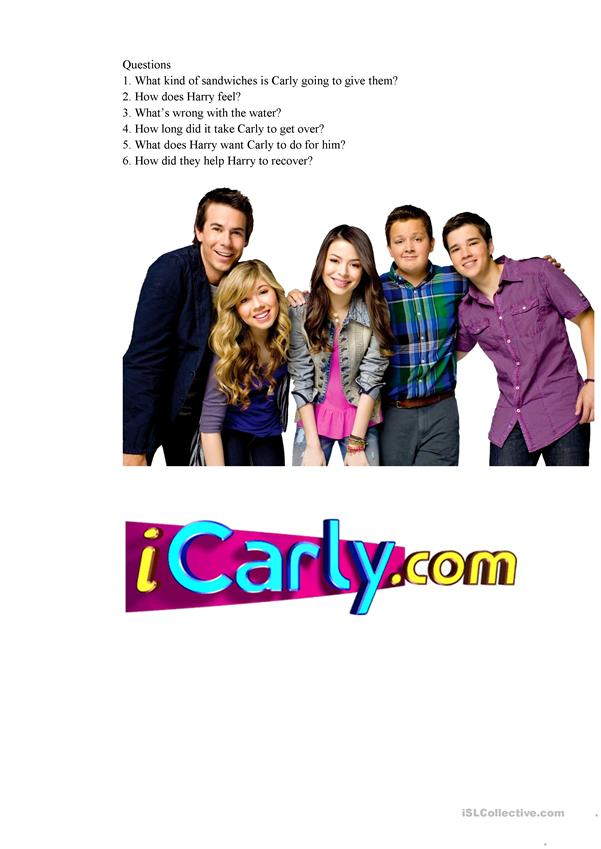 iCarly One direction episode