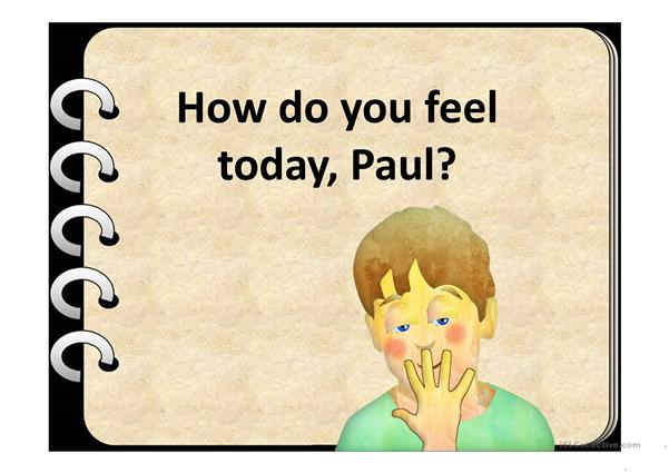 PAUL'S FEELINGS