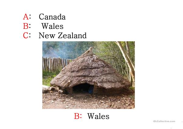 Quiz (Traditional Houses)