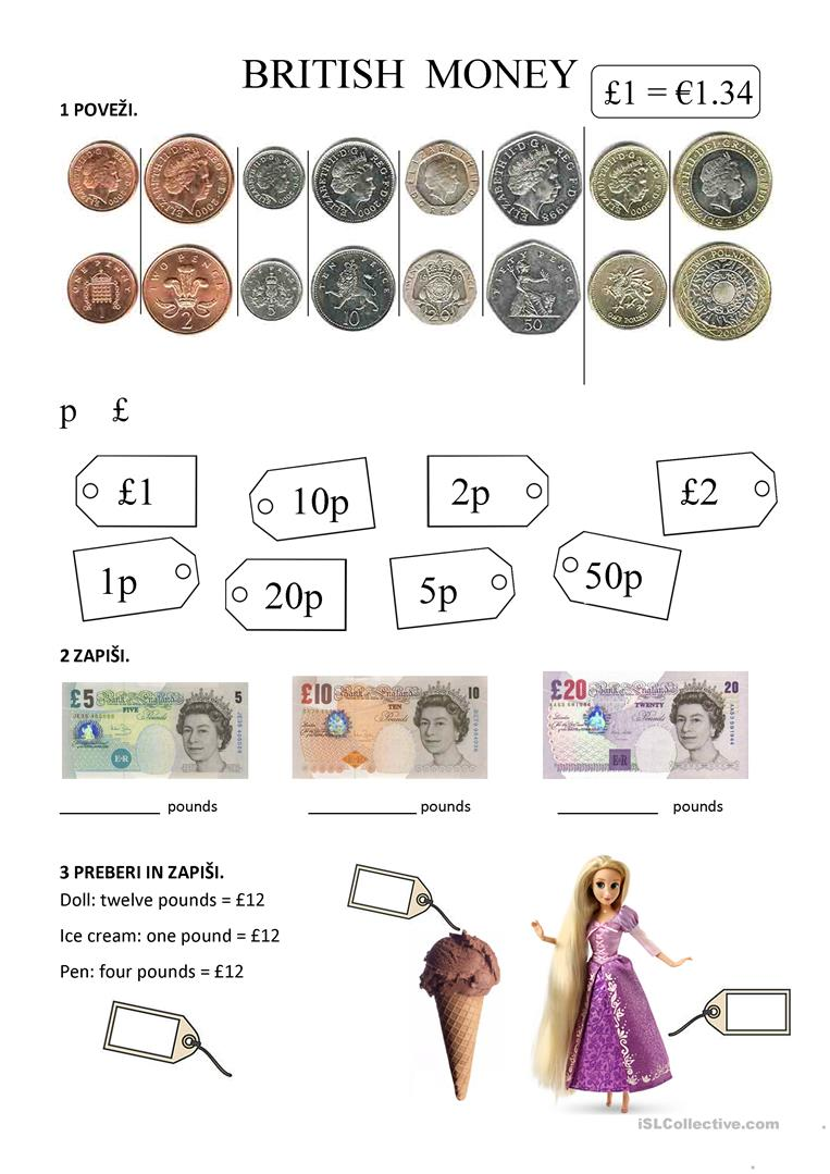 british money worksheet free esl printable worksheets made by teachers. Black Bedroom Furniture Sets. Home Design Ideas