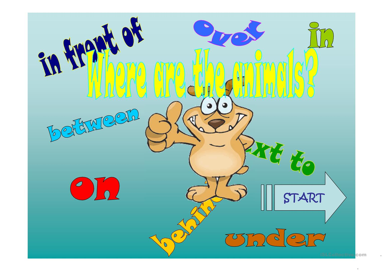 4 FREE ESL prepositions of place ppt game Powerpoint presentations ...
