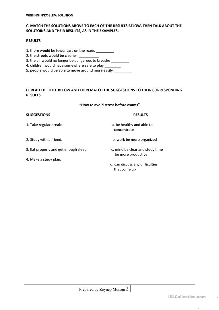 problem solution essay lesson Writing a problem-solution essay once you have explored a problem and its solution,  this lesson is a part of the writing problem-solution essays unit.