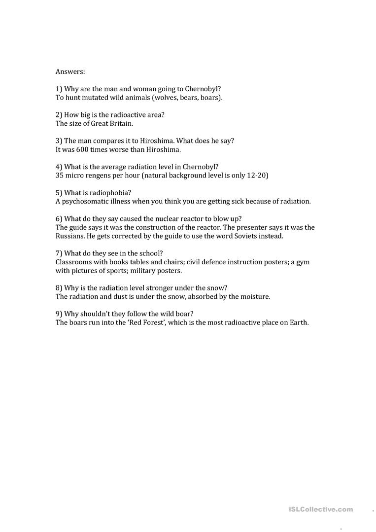 33++ Radioactive wolves worksheet answers Information