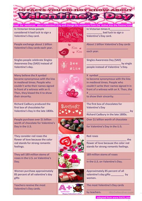Valentine Facts. valentines day history facts. valentines day ...