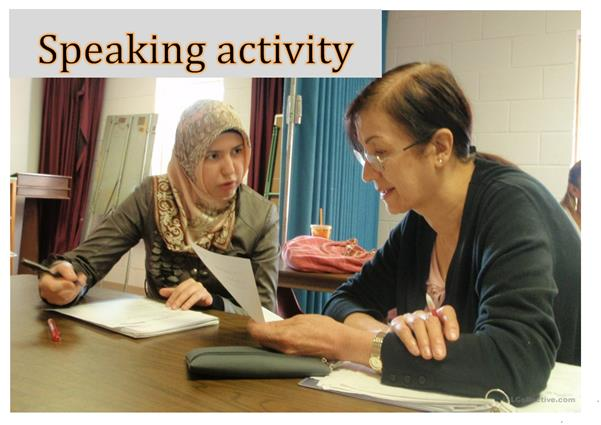 Daily Routine Speaking Activity