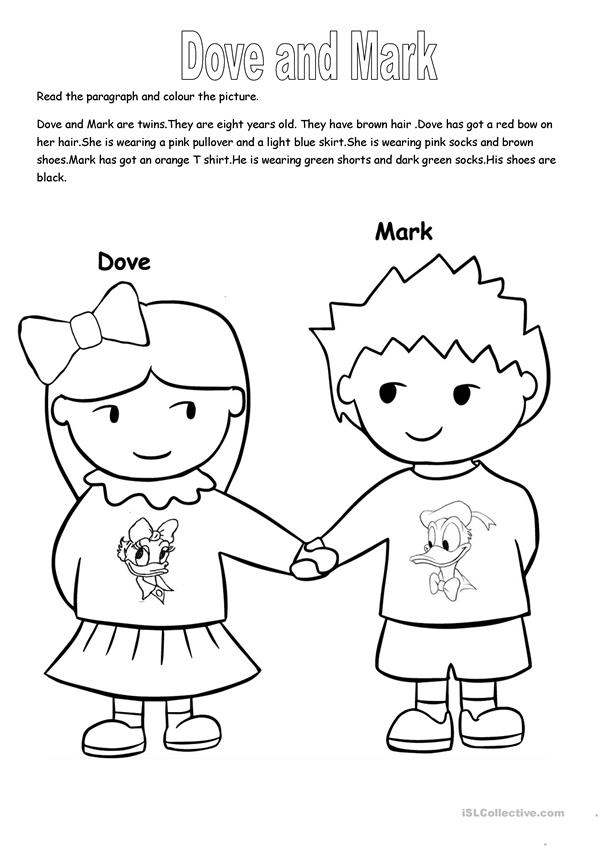 Dove and Mark.