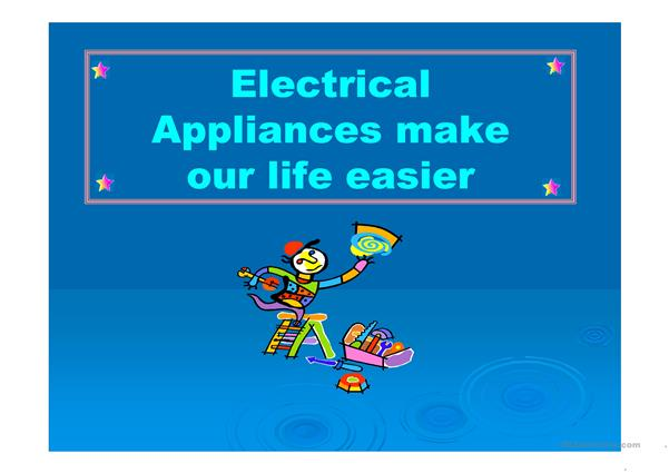 Electrical Appliances Presenatation