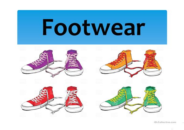 Footwear (shoes and others)