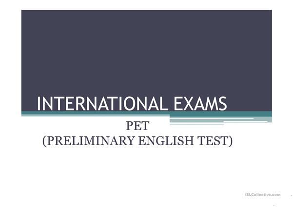 International Exams