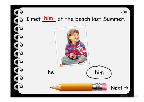 SUBJECT-OBJECT PRONOUNS