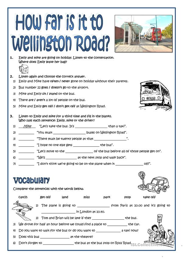 WHERE IS WELLINGTON ROAD?