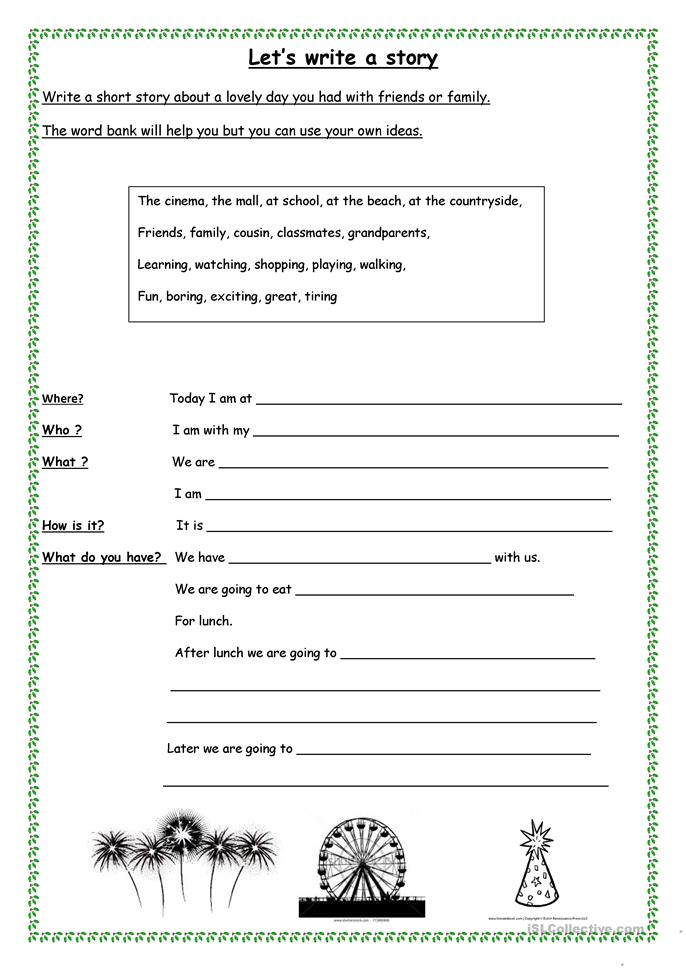 Worksheets Short Story Worksheet 29 free esl short story worksheets lets write a story