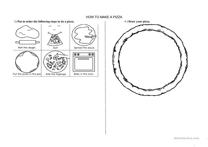 math worksheet : 23 free esl pizza worksheets : Kindergarten Esl Worksheets