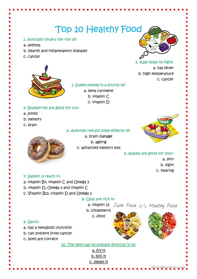 Nutrition types of academic essay