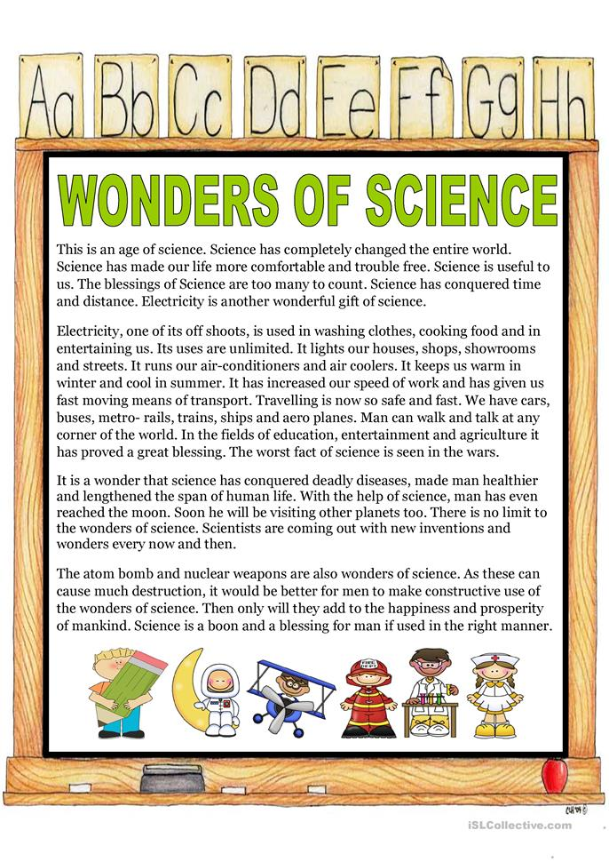 Superieur Essays On Wonders Of Modern Science