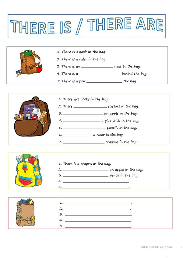 There Is / There Are - English ESL Worksheets For Distance Learning And  Physical Classrooms