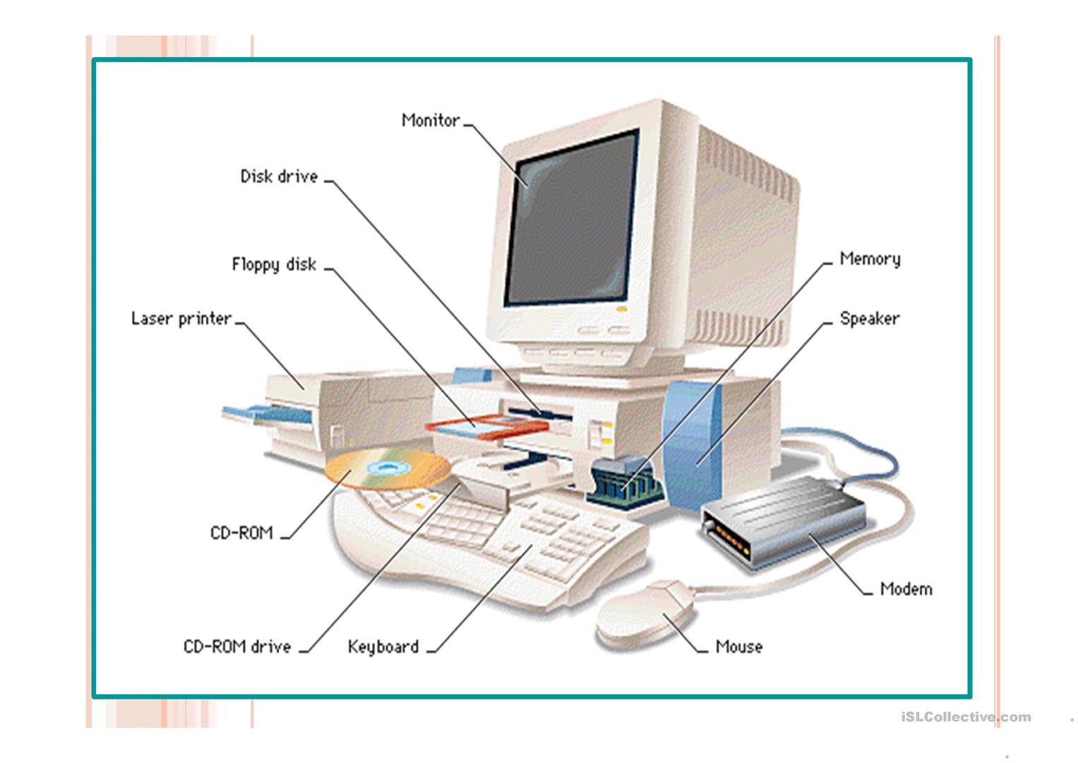 Computer Functions - English ESL Powerpoints