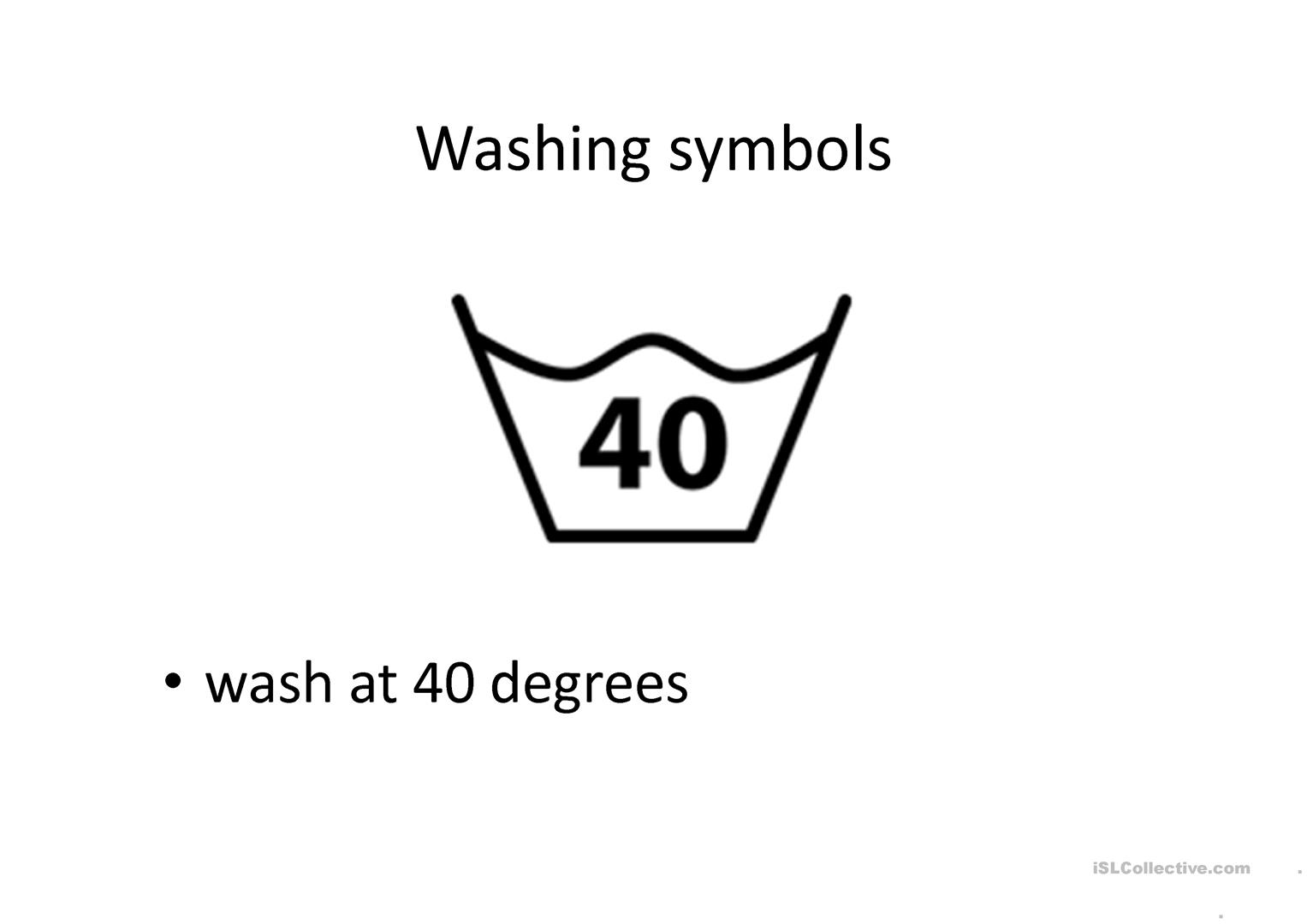 Washing Clothes Worksheet Free Esl Projectable Worksheets Made By