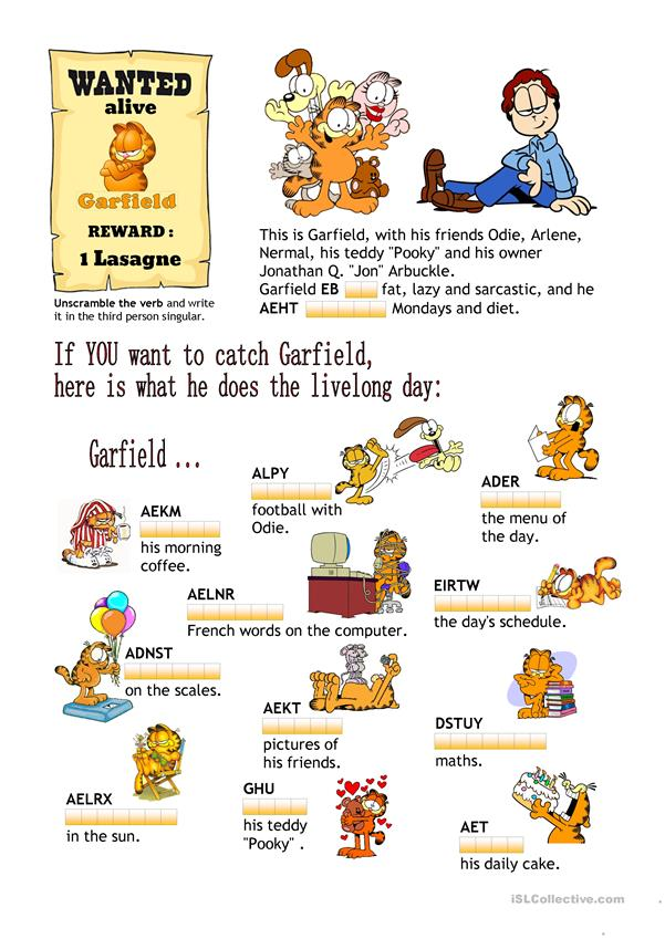 Garfield's Day
