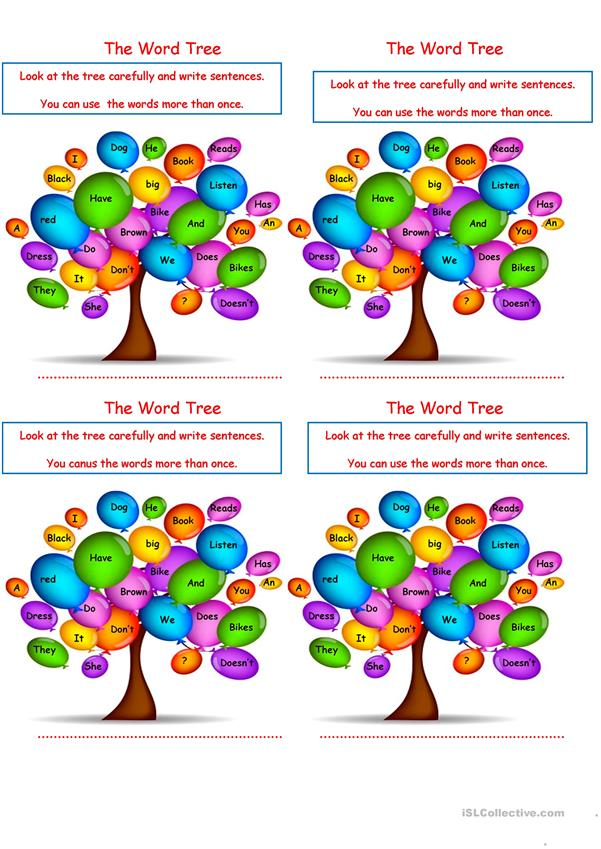 The Word Tree.