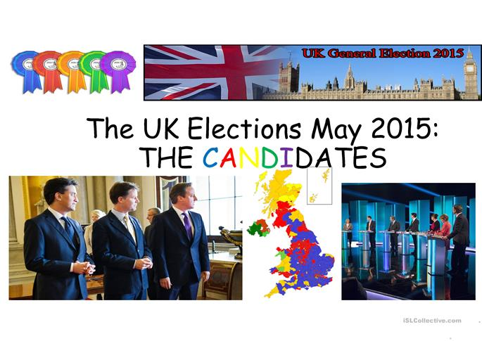 the uk elections may 2015 worksheet free esl projectable worksheets made by teachers. Black Bedroom Furniture Sets. Home Design Ideas