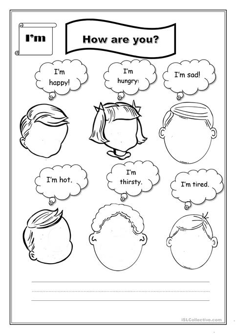 How do you feel? worksheet - Free ESL printable worksheets made by ...