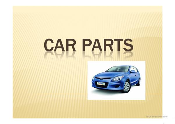car parts and number plates