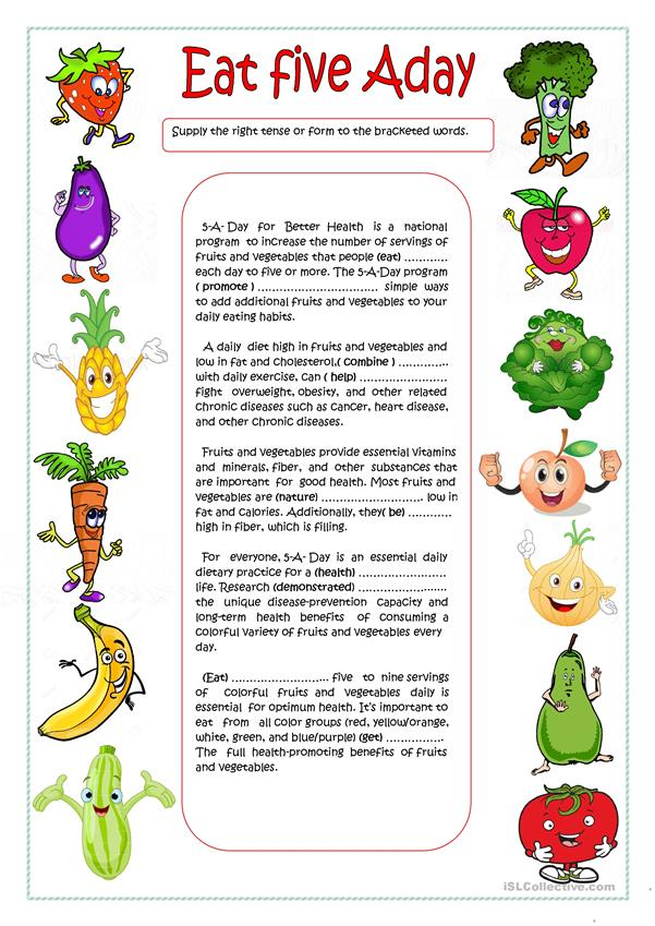 Eat  Five A Day