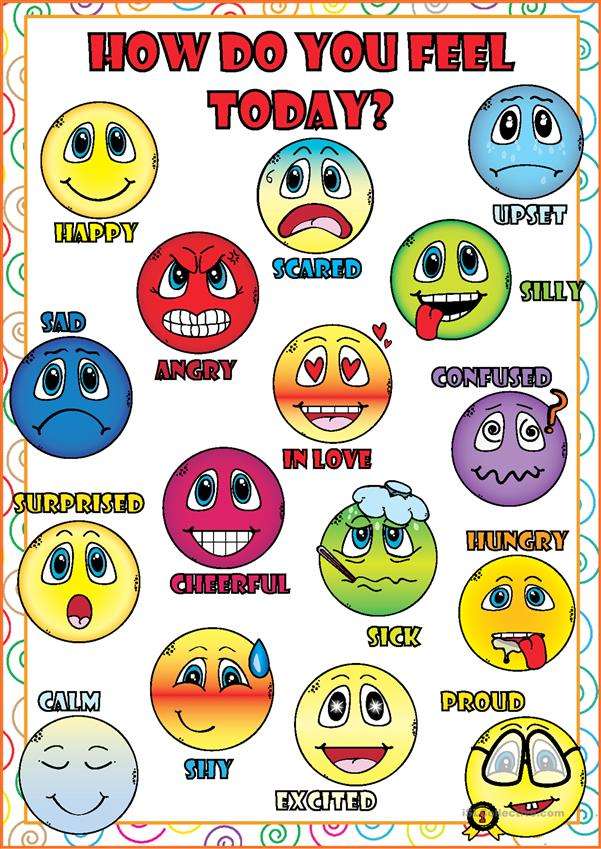 Feelings and Emotions POSTER
