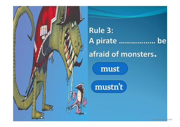 The pirate code_must
