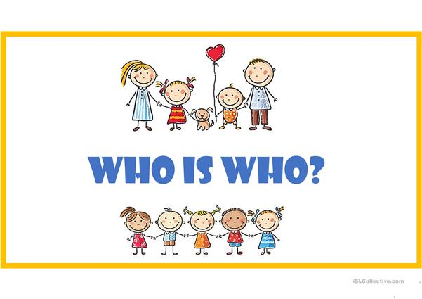 Who is who - family