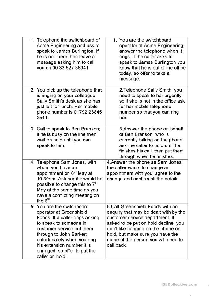 Printable English Worksheets For Adults : Business english worksheet free esl printable worksheets