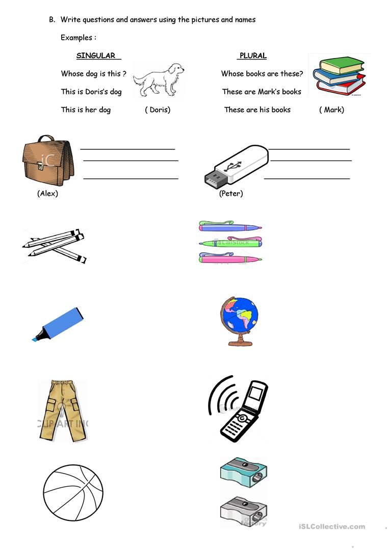These Are Their Stories More Features Mariska Hargitay: WHOSE OBJECTS ARE THESE? Worksheet