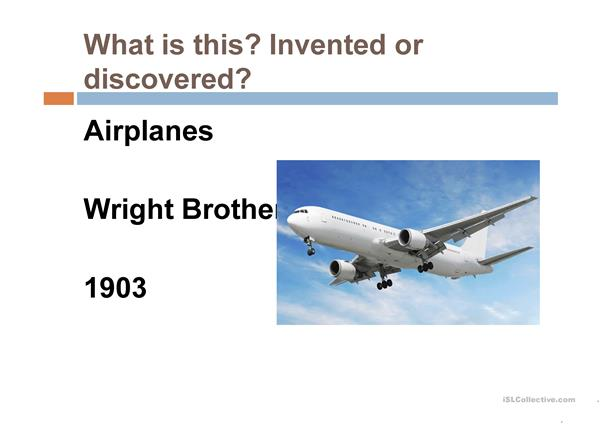 Discoveries and Inventions that changed the world.
